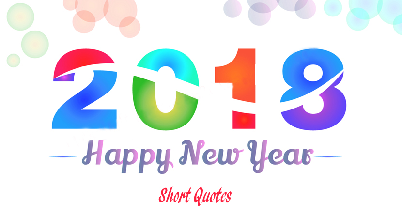Happy New Year Short Quotes