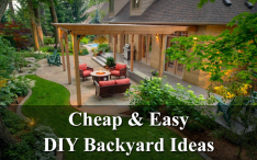 Cheap and easy DIY backyard ideas