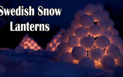 snowball lanterns