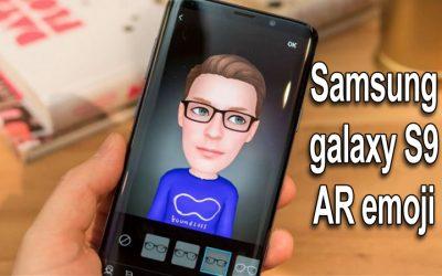 Samsung galaxy S9 AR emoji